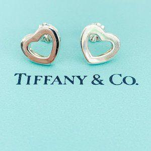 Tiffany & Co. | Retired Open Heart Stud Earrings